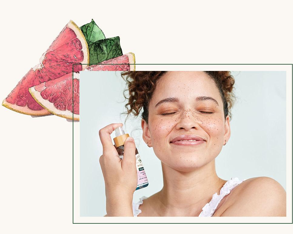 Humphreys Witch Hazel Alcohol-Free Toner Recharge: Witch Hazel + Grapefruit